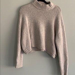 Knit Mock-neck sweater